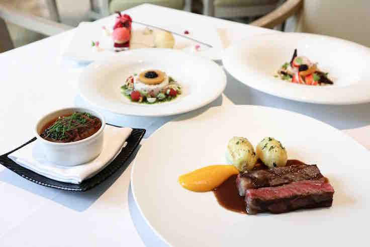The 5-course Valentine's Day set dinner at Gordon Grill (Photo: Gordon Grill)