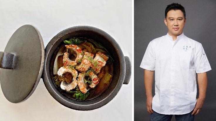 Jangeotang, a freshwater eel stew, by chef Shin Chang-ho. (Photo: Joo Ok)