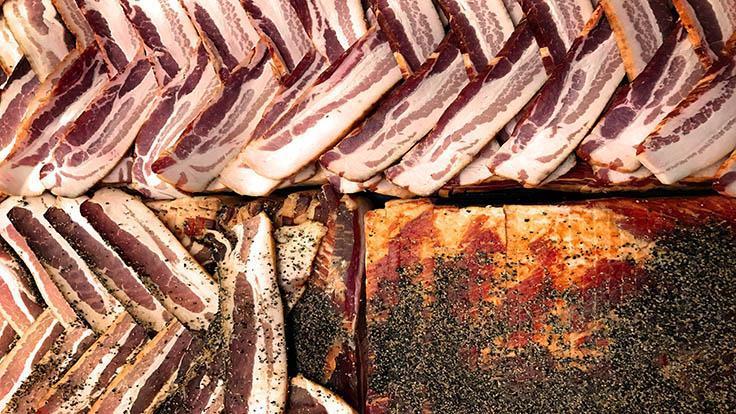 從標誌性的豬肉批到香腸、醃豬腿與培根,豬肉生產的各樣產品都有其吸引力。