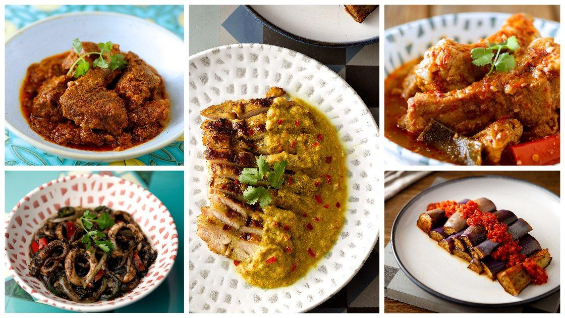 The Blue Ginger's Peranakan dishes