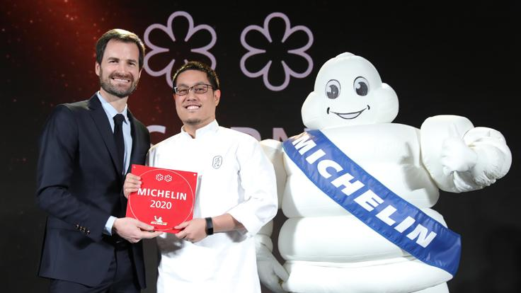 Supaksorn 'Ice' Jongsiri, the chef and owner of Sorn.