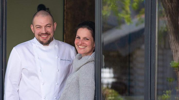 Jérémy Le Calvez et Jessica Chelala, de La Pomme d'Api. ©Olivier MARIE/La Pomme d'Api