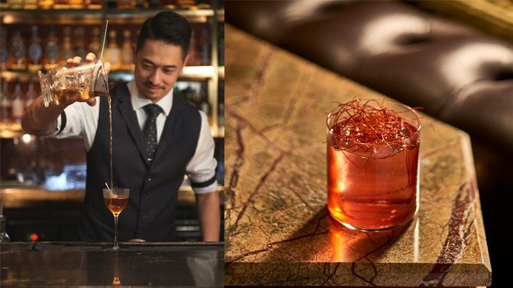 David Nguyen-Luu, bar manager of Manhattan in MICHELIN-listed Regent Hotel in Singapore (Photo: Manhattan)