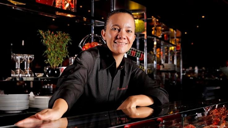 Florence Dalia took over the helm of L'Atelier de Joël Robuchon Taipei in October 2019. (Photo: L'Atelier de Joël Robuchon Taipei)