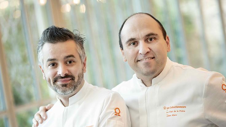 Cédric Perret et Julien Allano ©Alain Maigre
