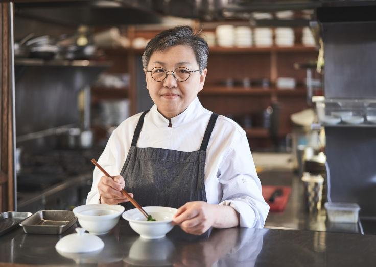 Hansikgonggan's Cho Hee-suk Cho has been credited with mentoring a generation of successful young chefs, including Kang Min-goo of two Michelin-starred Mingles and Shin Chang-ho of one-starred Joo Ok. (Photo: Hansikgonggan)