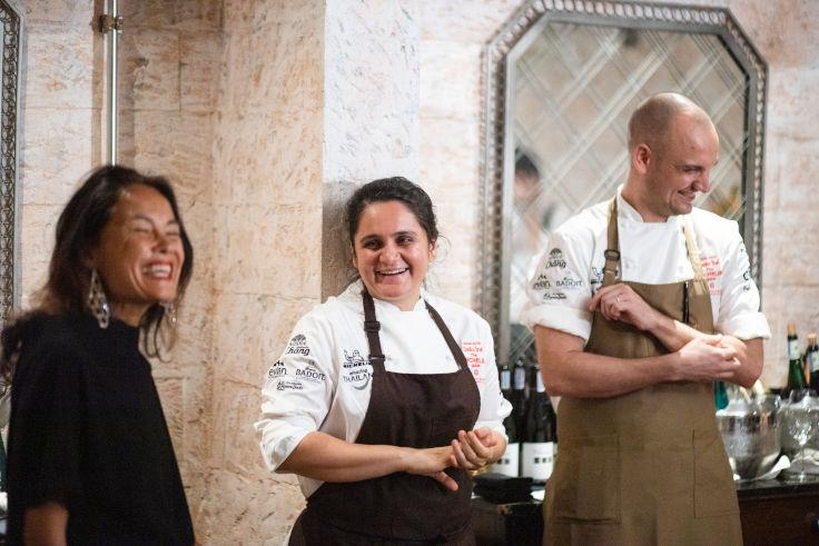 Former journalist Garima Arora former journalist studied Le Cordon Bleu in Paris and worked with René Redzepi, Gordon Ramsay and Gaggan Anand before starting her own restaurant in Bangkok. (Photo: MICHELIN Guide Thailand)