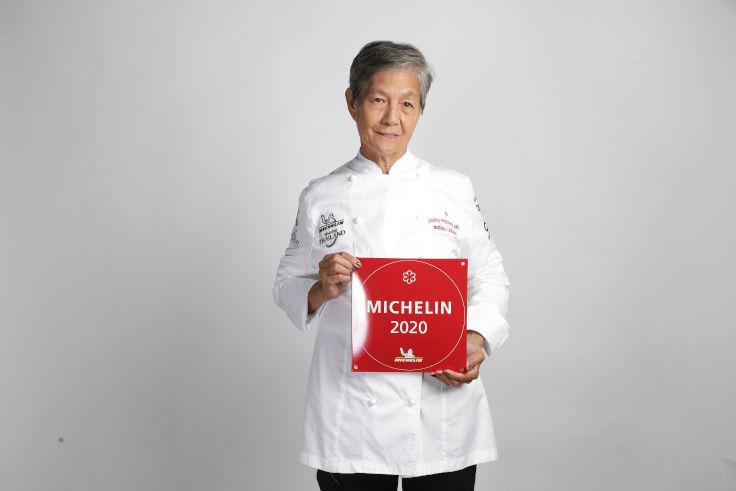 Chef Pannee Ganisthanaka and her husband Suthep run Ruean Panya in Samut Sakhon, an hour's drive from downtown Bangkok. (Photo: MICHELIN Guide Thailand)