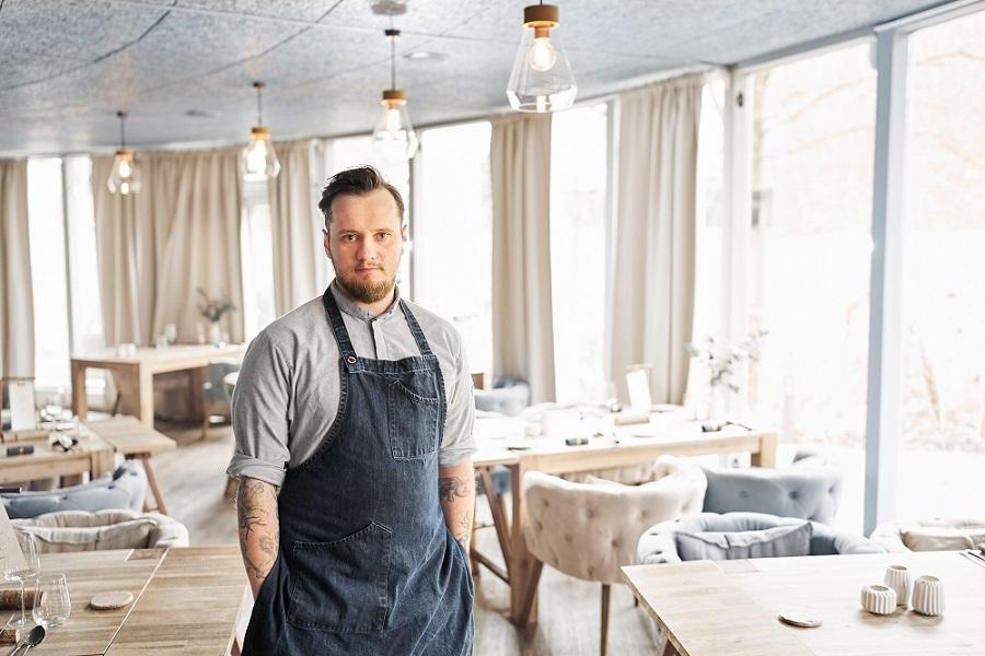 Küchenchef Tony Hohlfeld, Restaurant Jante © Dieter Sieg