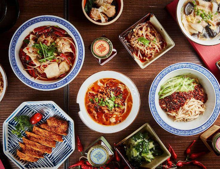 Chili Fagara's Hot N Meen menu features 10 cold appetizer and 13 noodles dishes (Photo: Hot N Meen)