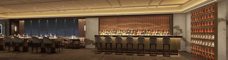 「明閣」設計簡約,並設有酒吧,以中國茶製作雞尾酒,希望可以帶領一個潮流(圖片:明閣)