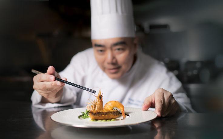 曾超敬重回明閣,出任餐廳的廚藝總監(圖片:明閣)