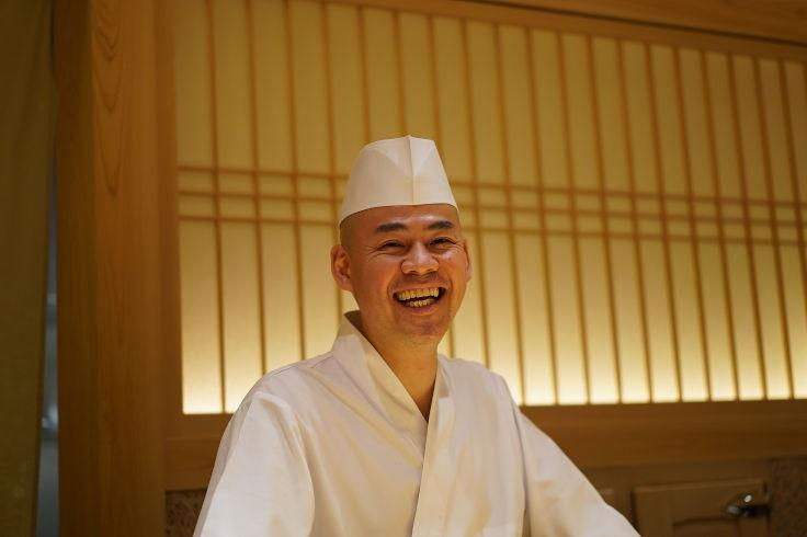 Chef Takashi Saito of two-MICHELIN-starred Sushi Saito and Sushi Taka (Photo: Sushi Saito)