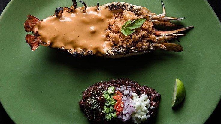 Khao Khluk Kapi by Chef Ton of Le Du is ready for takeaway. (©: Le Du)