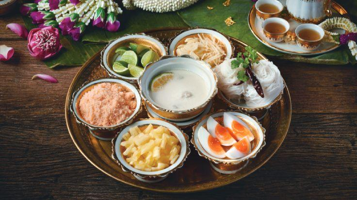 Thai dishes crafted from ancient recipes that once impressed the royal family is now available for takeaway at Saneh Jaan.
