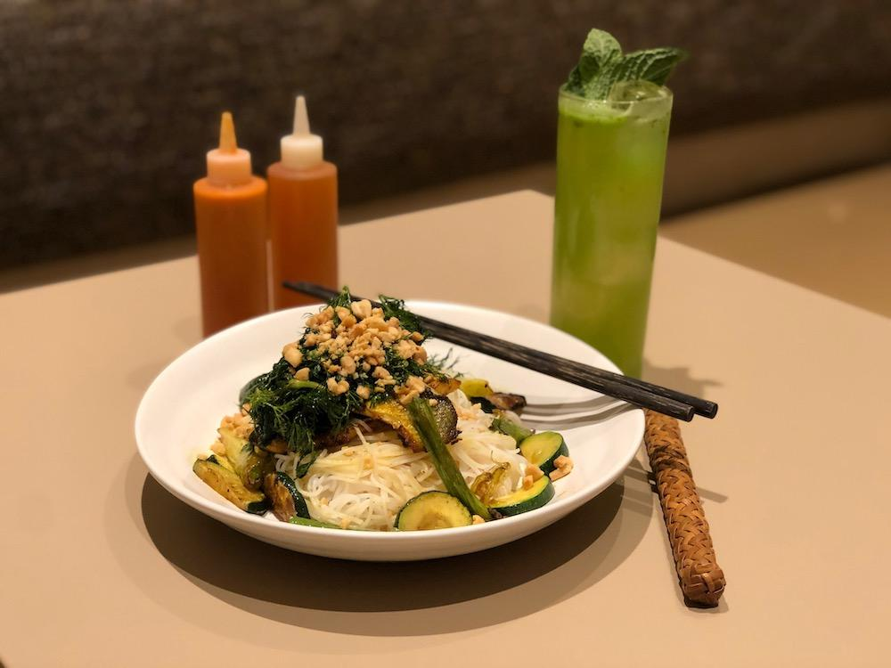 Before it closed, Van Đa specialized in small dishes from Hue, the former imperial city in Central Vietnam, like this turmeric branzino with dill and rice noodles. Photo courtesy of Van Đa.