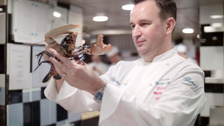 The chef begins each work day checking in on his suppliers (Photo: MICHELIN Guide Digital)