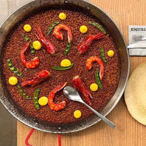 Carabinero Paella (Photo: Esquina)