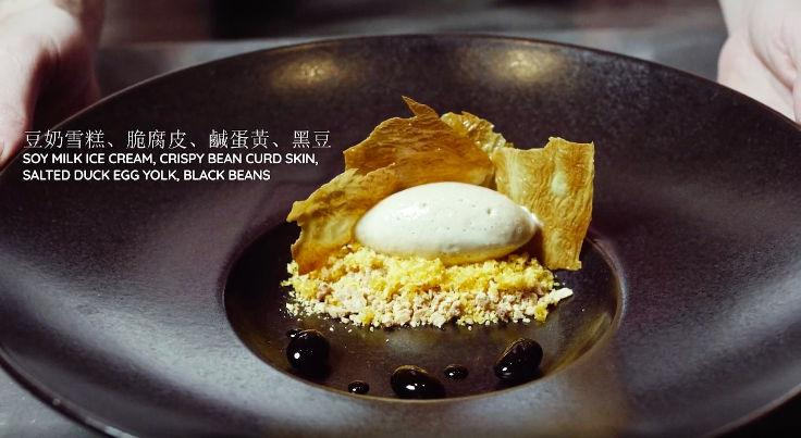 "The restaurant's ""Soy Milk"" dessert is a hit with customers"