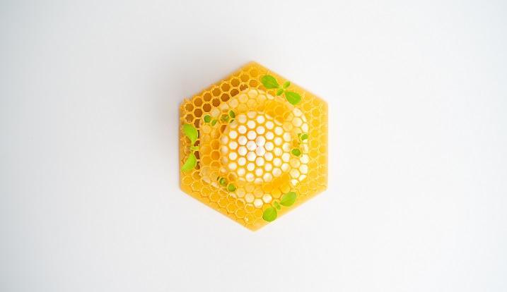 CORE by Clare Smyth - Lemonade Parfait Honey and Yoghurt