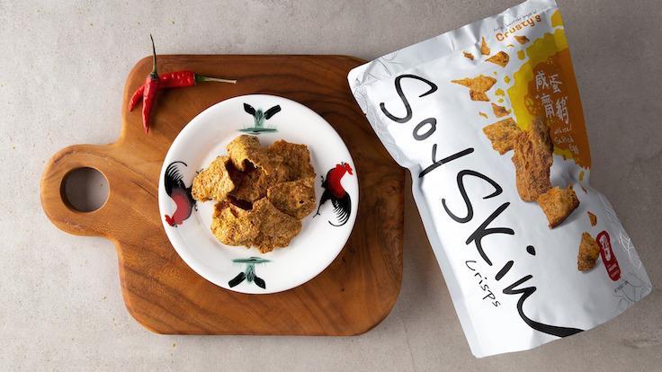 Crusty's Soyskin Crisps (Photo: Crusty's Singapore)