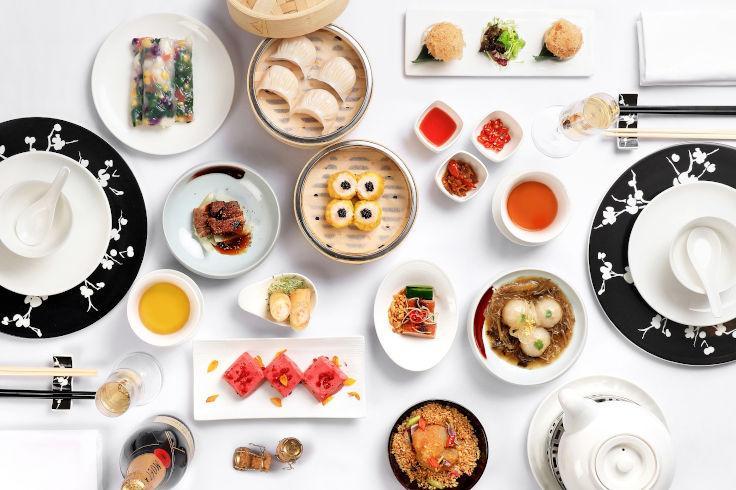 國金軒於星期六供應可無限量品嘗點心的早午餐(圖片:國金軒)