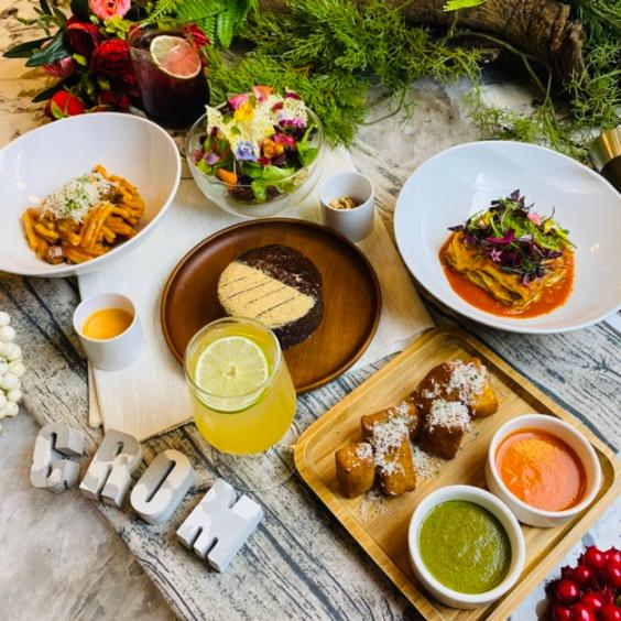CROM by Christian Milone Taipei 推出多款從開胃菜到甜點的北義風味外帶菜色。(圖片:CROM by Christian Milone Taipei 提供)