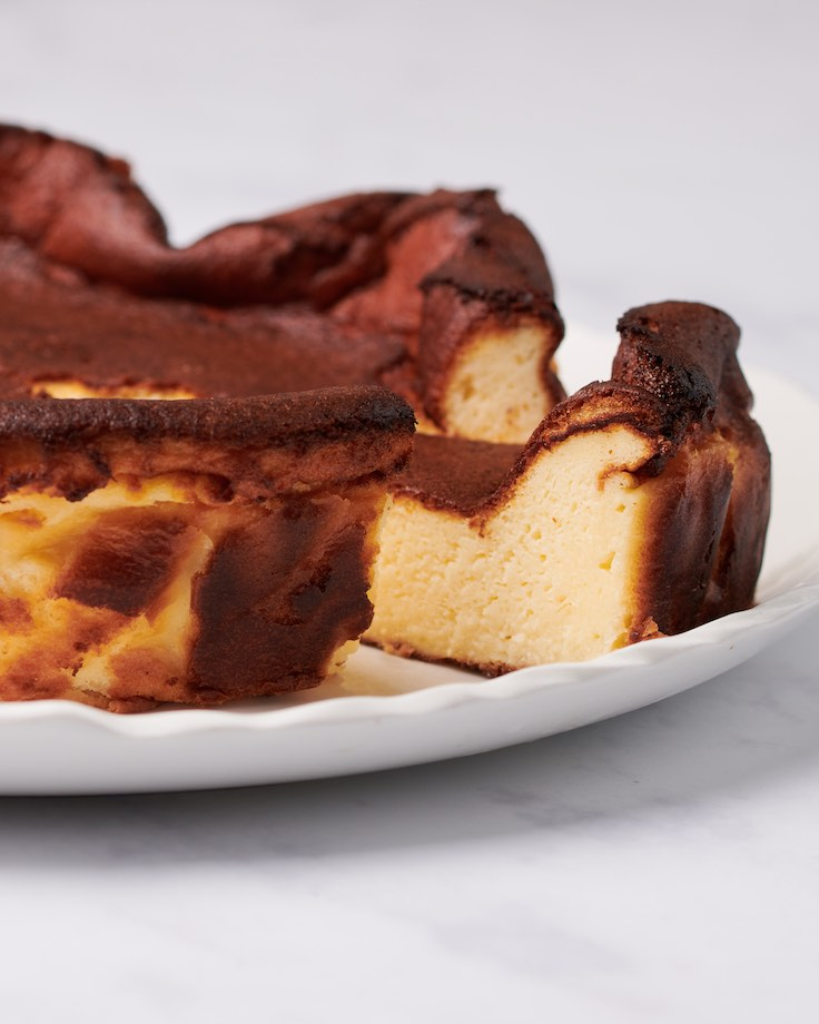 Restaurant Secrets Baking Basque Burnt Cheesecake