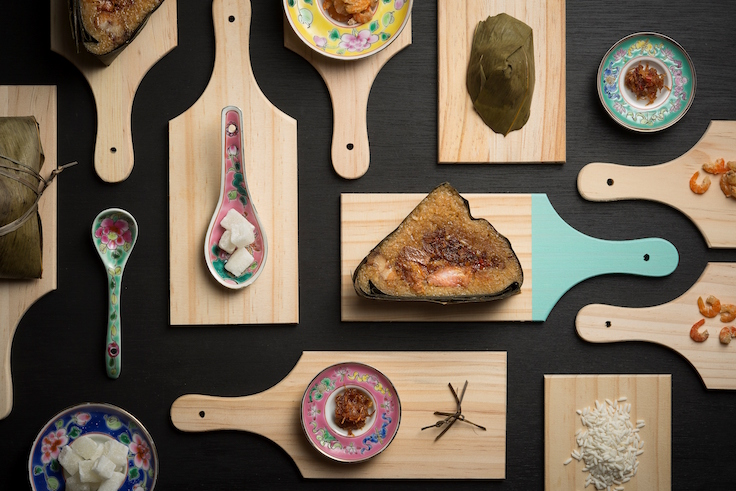 Man Fu Yuan's X.O. Sauce Nyonya Rice Dumpling (Photo: Man Fu Yuan)