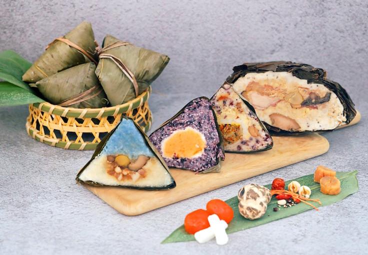 Shang Palace's colourful Rice Dumpling Gift Set (Photo: Shang Palace)