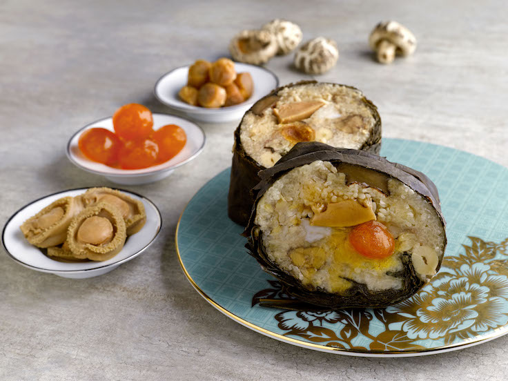 Hua Ting's rice dumplings are chock full of luxury ingredients (Photo: Hua Ting)