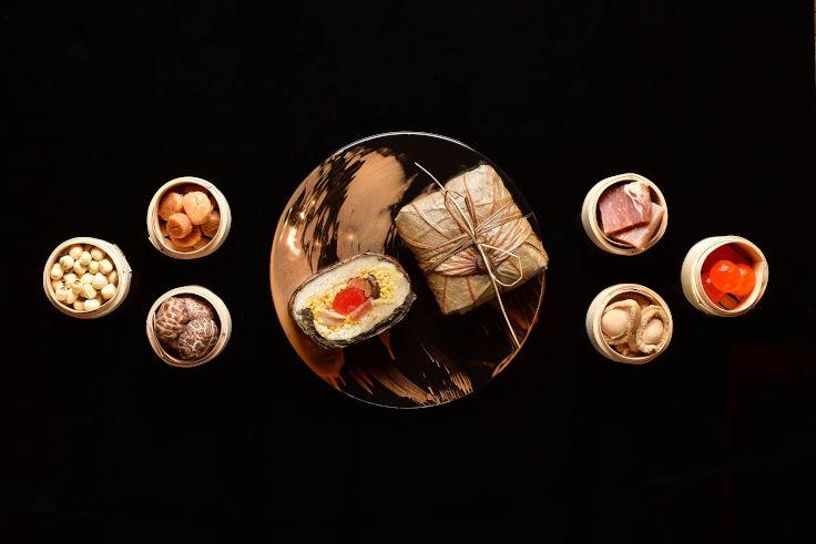 明閣的原隻鮑魚裹蒸粽(圖片:明閣)