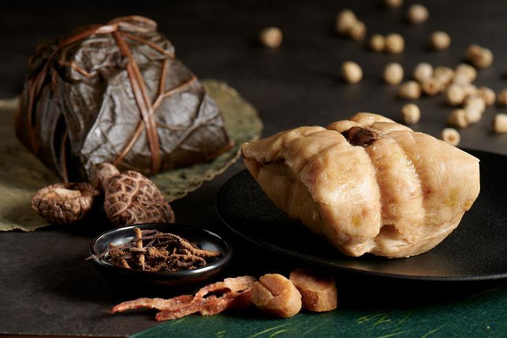 香宮的冬蟲草西班牙黑豚腩粽(圖片:香宮)
