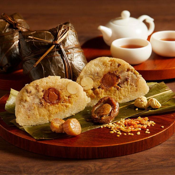 富臨飯店的粽子,用上一哥鮑魚(圖片:富臨飯店面書專頁)