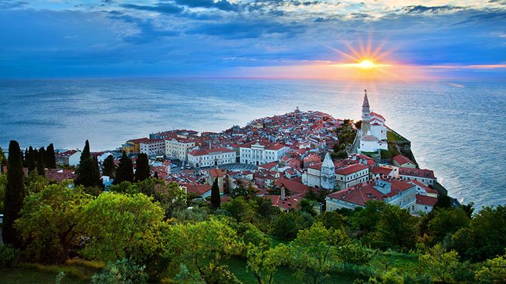 La ville côtière de Piran. ©Slovenia Tourism Board