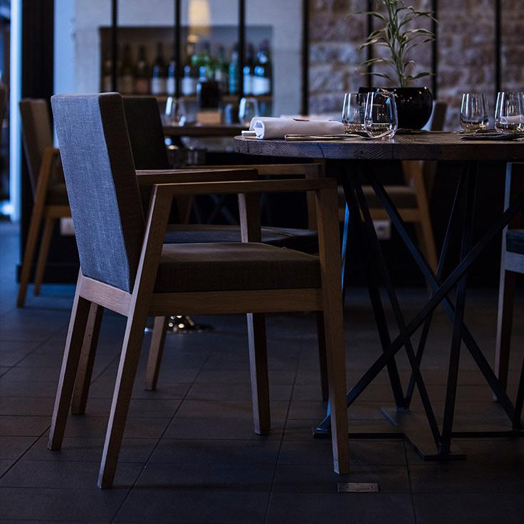 Restaurant Jean-Michel Carrette. ©Matthieu Cellard