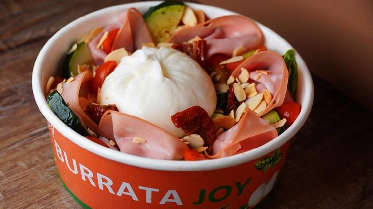 Bologna burrata bowl from Burrata Joy, a concept by Garibaldi Group (Photo by: Burrata Joy