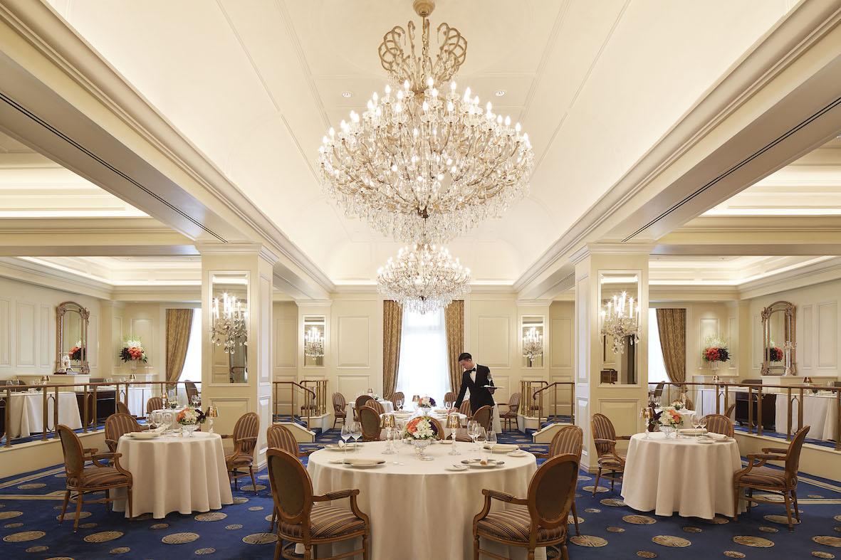 The main dining room at Gaddi's