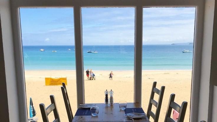 Porthminster Beach Café - Credit: Sharminjackson