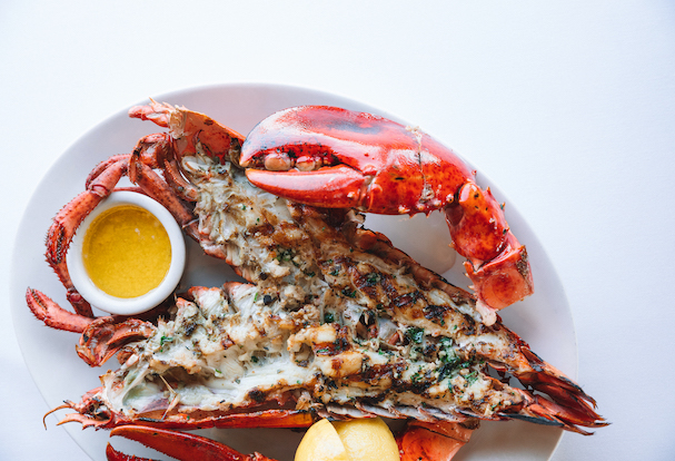 Grilled American Lobster courtesy of The Lobster