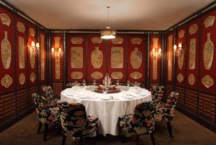 The elegant private dining rooms of China Tang (Central) (Photo: China Tang)