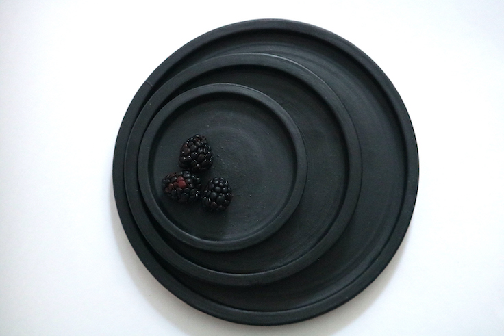 Grey Remedy's Black Plate Set © Melissa J. Chin