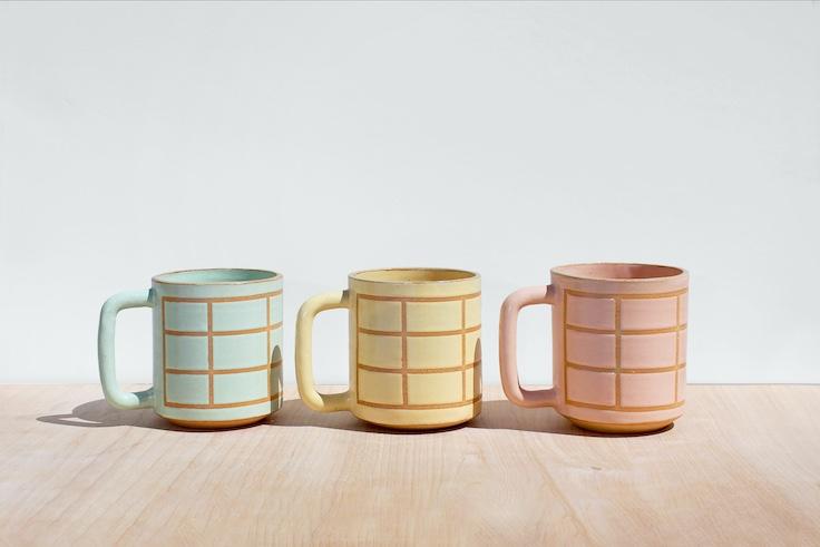 Not Work Related's Grid Mugs © Sarah Hussaini