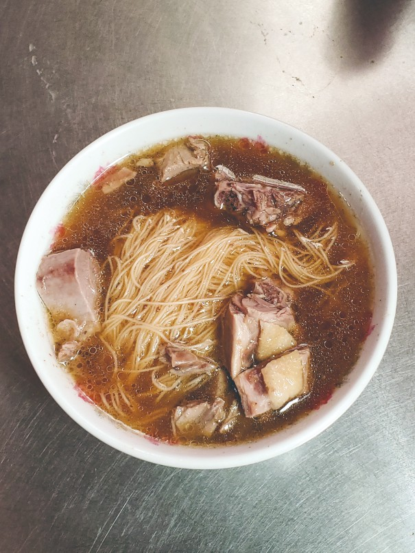The goose noodle soup is one of the most popular signature dishes of Fu Kuei Ting.
