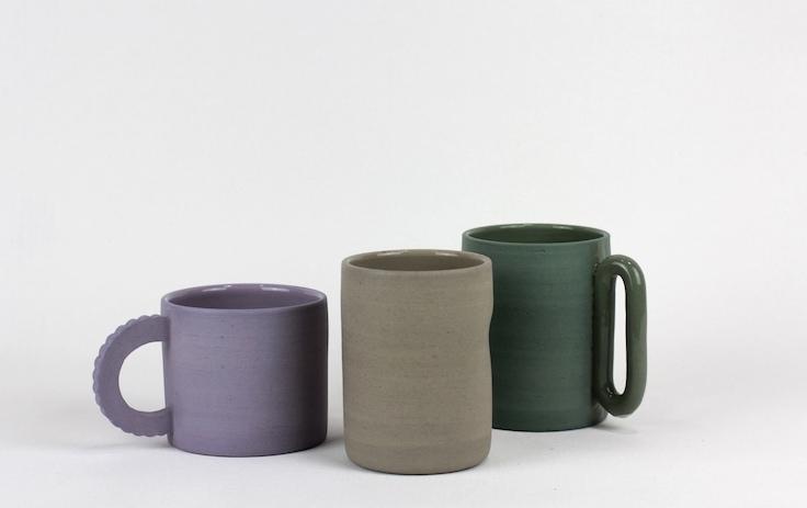 Ekua Ceramics mugs © Sara Ekua Todd