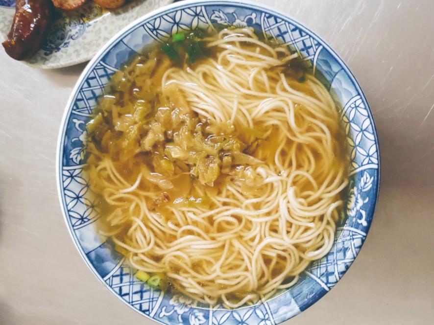 上海未名麵點經營已經超過 70 年。