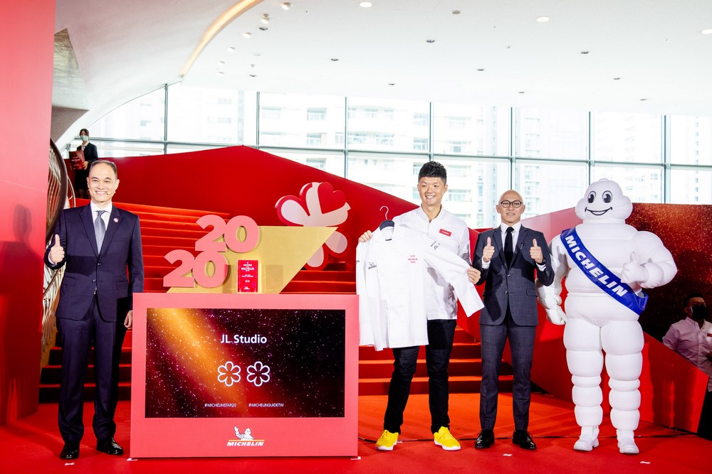 Jimmy Lim of JL Studio received two MICHELIN stars in the MICHELIN Guide Taipei & Taichung 2020 launched on August 24.