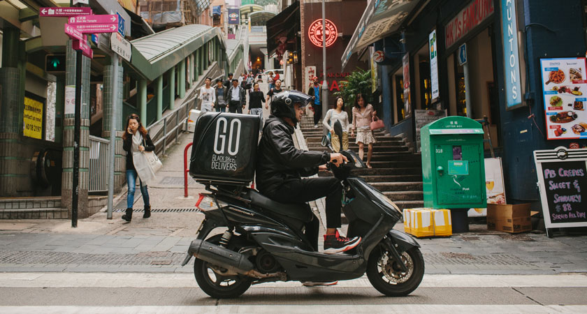 The Black Sheep Restaurants group, which operates more than 25 restaurants in Hong Kong, started their own in-house delivery app GO for their stable of venues. (Photo: Black Sheep Restaurants)