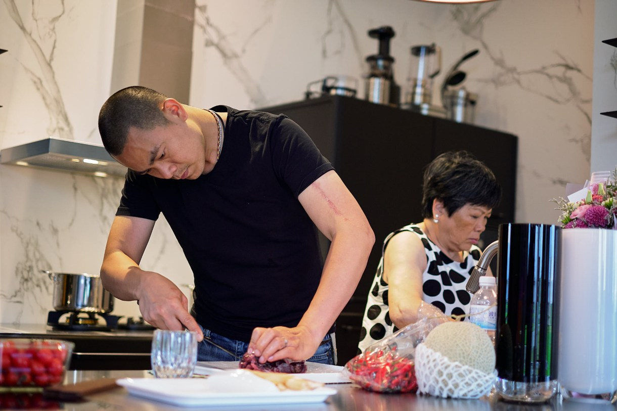 André Chiang received his initial cuisine training from his mother. (Photo: Activator Marketing Company)
