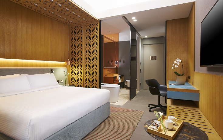 Oasia Hotel Downtown - Club Room (Image: Oasia Hotel Downtown)
